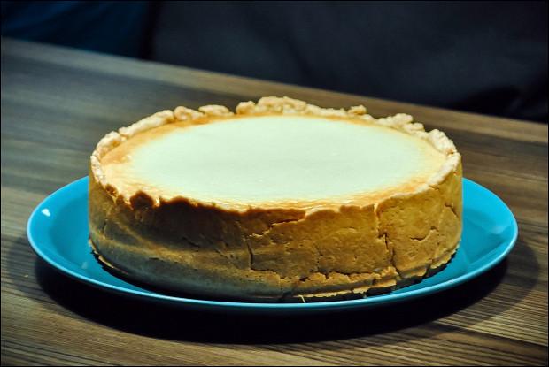 Грушевый пирог с творогом