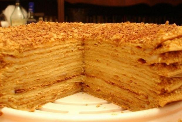 Медовый торт от Камиллы