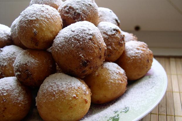 Пончики с яблочным мороженым