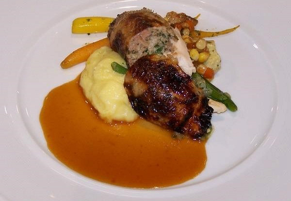 Соус «легкий куриный жюс» для курицы и жареной рыбы