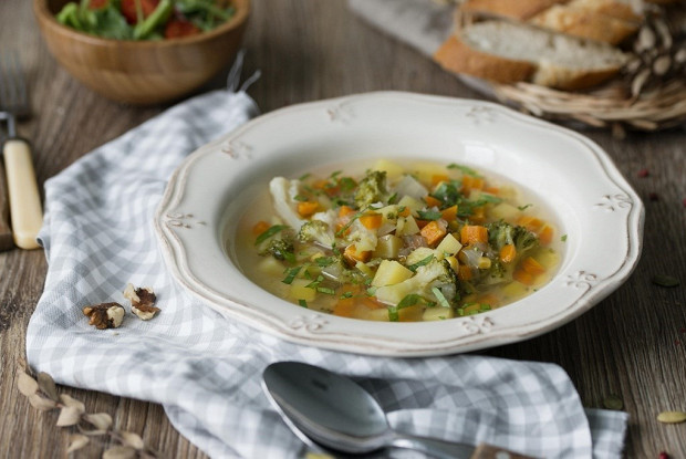 Фитнес-суп овощной в мультиварке