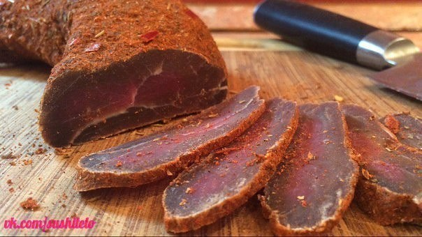 Пряное вяленое мясо