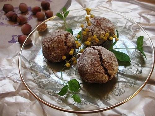 Ореховое печенье с кардамоном без муки