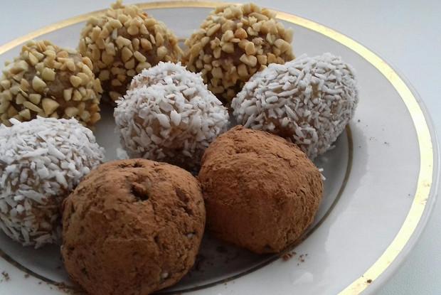 Шоколадно-мятные брауни