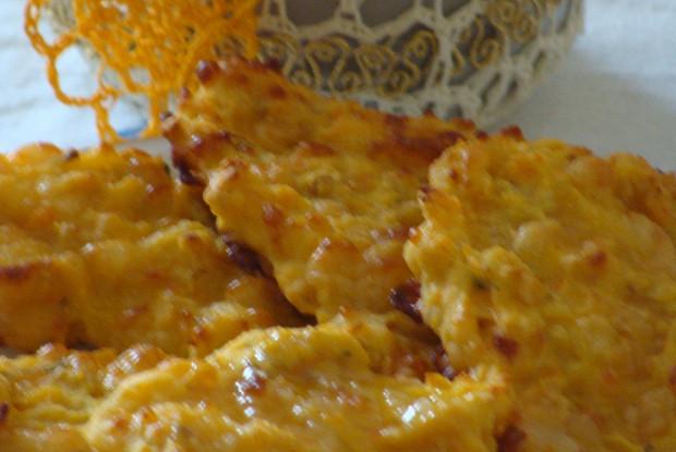 Овсяно-кукурузная лепешка с сыром