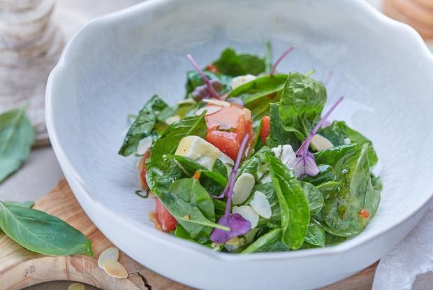 Салат с арбузом