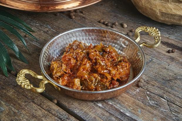 Фото к рецепту: Матбуха из помидоров и баклажанов