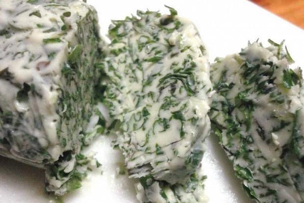 Шпинатное сливочное масло (Burro Agli Spinaci)