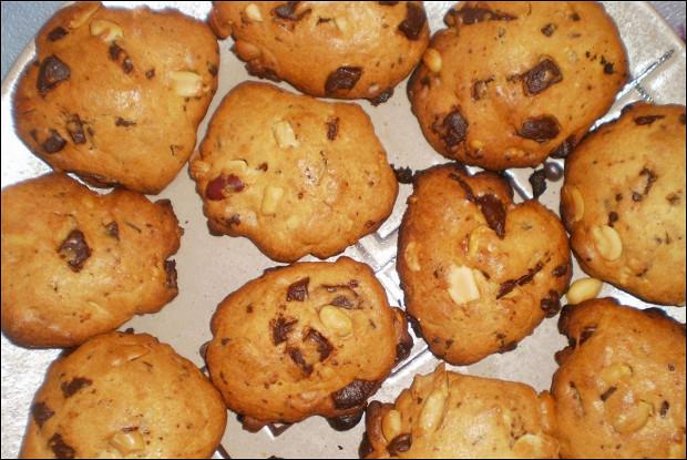 Золотистое ореховое печенье