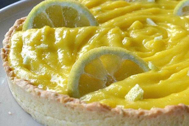 Торт лимонный с муссом