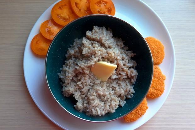 Пряный рис масала