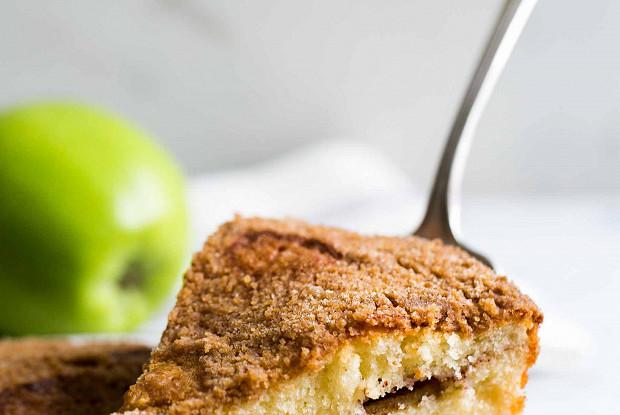 Яблочно-кофейный торт