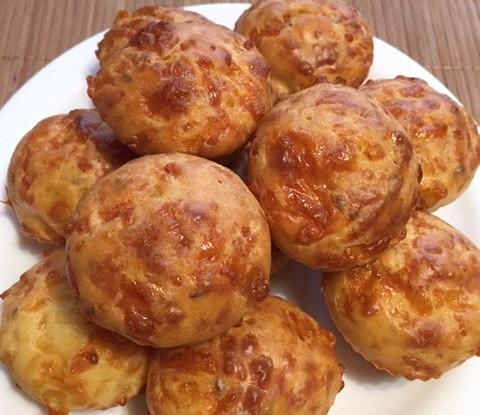 Сырные кексы на ацидофилине
