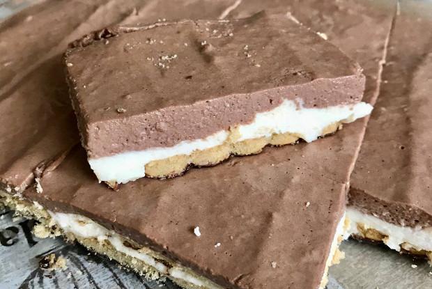 Торт «Зебра» без выпечки
