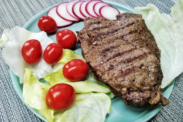 Баффало-стейк из мраморной говядины
