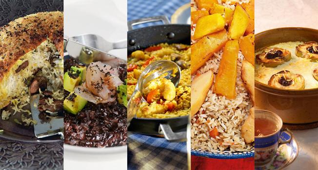 19 разнообразных рецептов с рисом