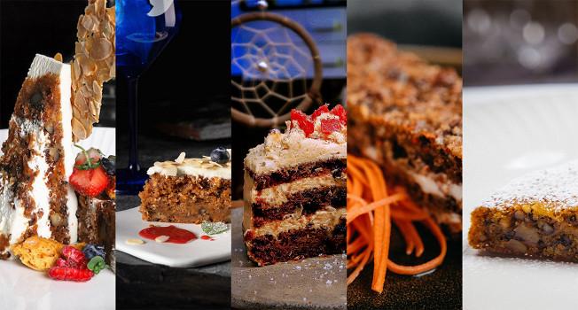 Морковные торты и пироги