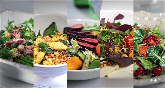5 простых салатов