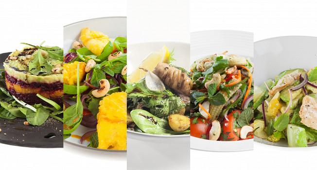 Как использовать салатную смесь
