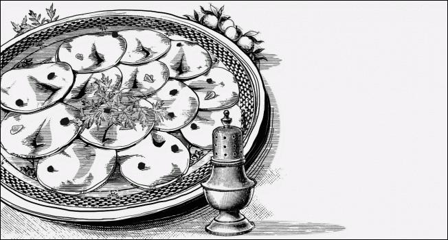 Карпаччо из селедки