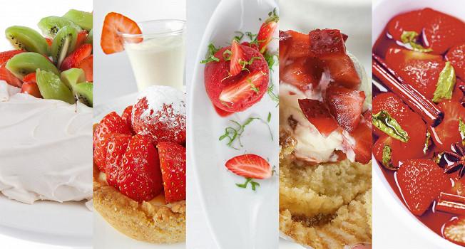 Семь проверенных десертов с клубникой