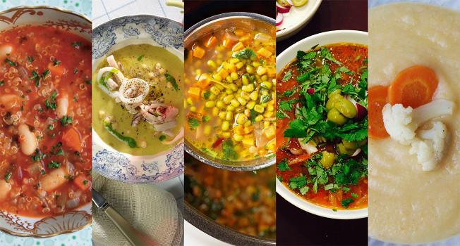 10 рецептов вкусных постных супов