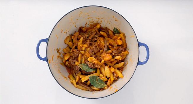 Как готовить азу по-татарски?