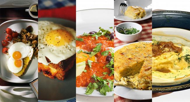 Одиннадцать завтраков из яиц