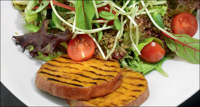 Овощной обед