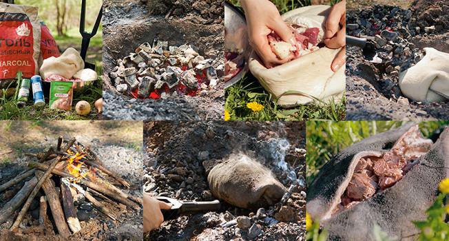 Как приготовить баранину в земле