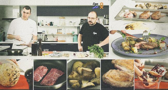 Евгений Уткин в гостях у «Еды»: «Еда на ночь»