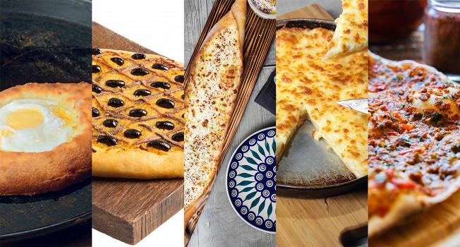 Пиццы народов мира