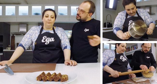 Как сделать шоколадную колбасу
