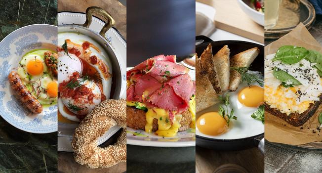 Что готовят из яиц в ресторанах