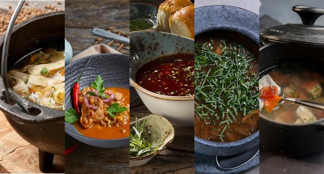 Пять согревающих супов
