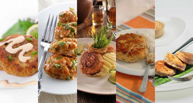 Котлеты из рыбы и овощей