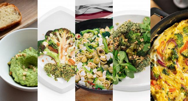 10 рецептов с брокколи
