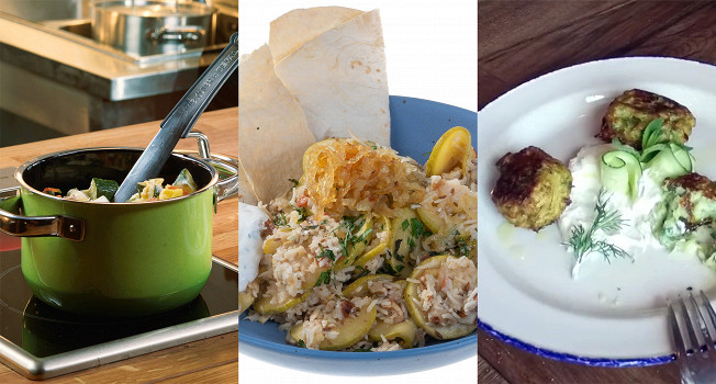 Три лучших блюда из кабачков