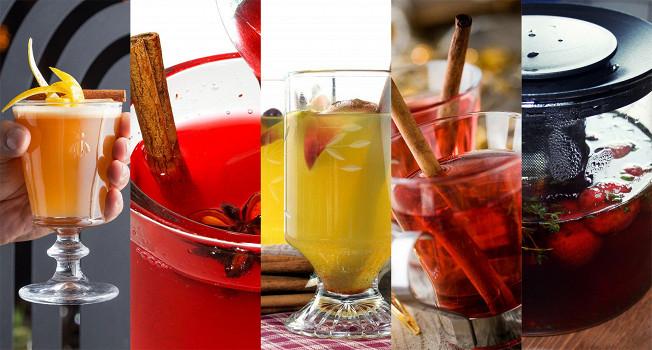 Горячие напитки с алкоголем и без