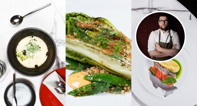 Жареный салат Андрея Коробяка