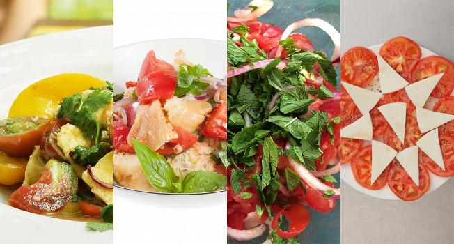 6 салатов из помидоров взамен надоевшему капрезе