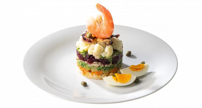 Итальянский оливье — салат каппон-магро