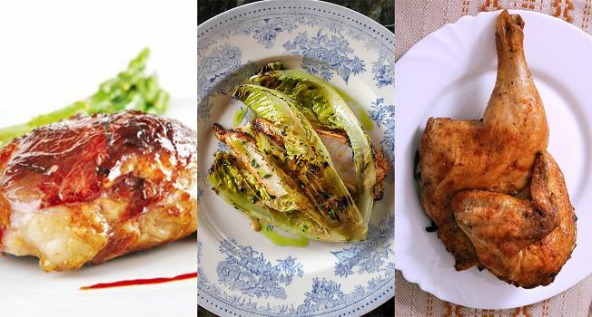 Три лучших рецепта курицы на гриле