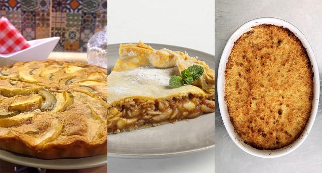Три классических яблочных пирога