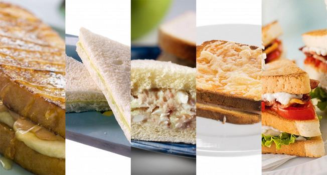 Десять хороших сэндвичей в дорогу