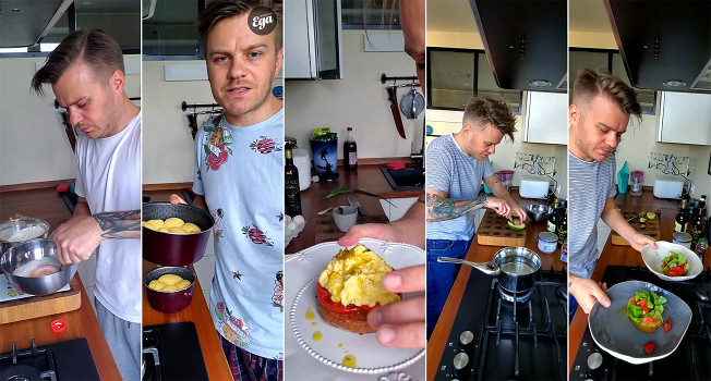 Завтраки Владимира Чистякова