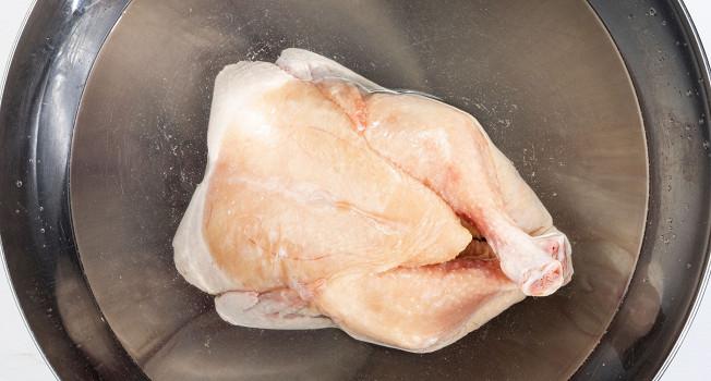 Как разморозить курицу